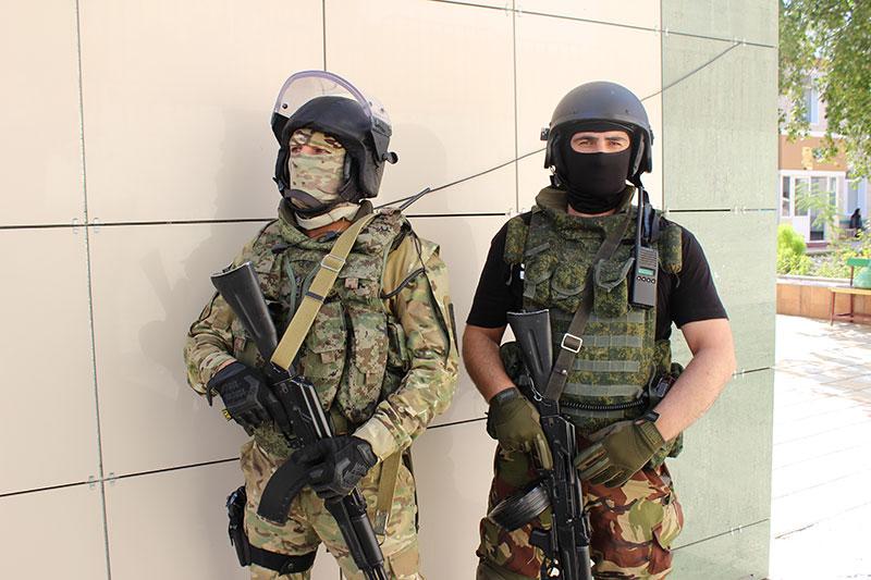 Тактико-специальные учения по антитеррористической защищенности объектов с массовым пребыванием граждан